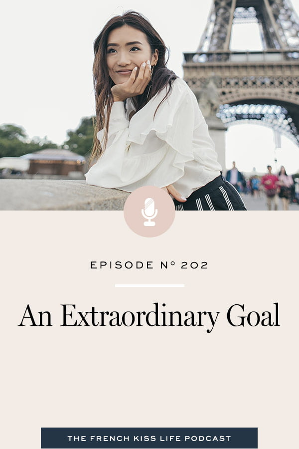 How to let go of your doubts and excuses in order to achieve your extraordinary goal.