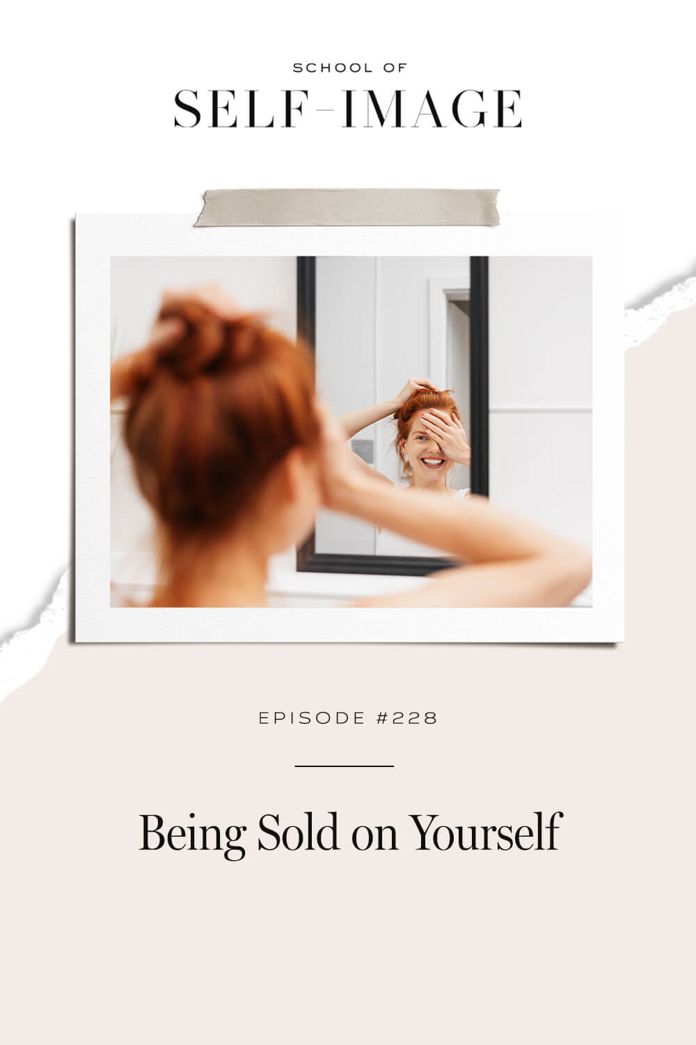 Why once you are sold on yourself, the rest of the world will be sold on you too.